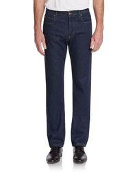 Roberto Cavalli Straight-leg Jeans - Lyst