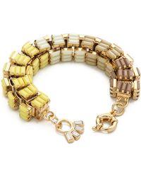 Lee Angel Ombre Baguette Box Link Bracelet