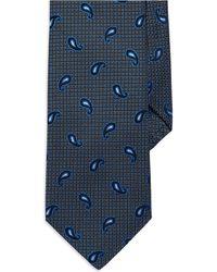 Burma Bibas - Seven Fold Textured Paisley Tie - Lyst