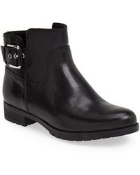 Rockport | Tristina Leather Ankle Boots | Lyst