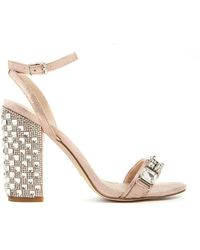 Asos Honey Pot Heeled Sandals - Lyst