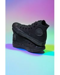 Converse Chuck Taylor All Star Monochrome High Top Sneaker - Lyst