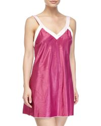 Louis At Home - Cassis Short Chemise - Lyst