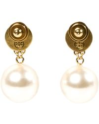 Tory Burch W Selma Earrings - Lyst
