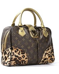 Louis Vuitton Preowned Limited Edition Stephen Sprouse Leopard Adele Bag - Lyst