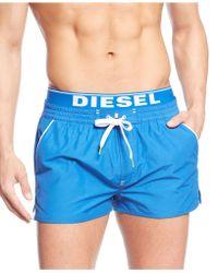 Diesel Bmbx-barrely Swimshorts - Lyst