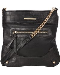 Jane Norman Across The Body Faux Croc Bag - Lyst