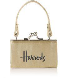 Harrods - Mini Clip Purse - Lyst