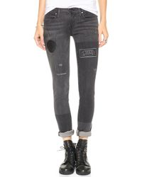 Thvm Behati Punk Cigarette Jeans  - Lyst