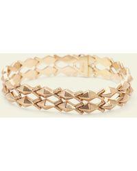 Erica Weiner - Late Victorian Studded Link Bracelet - Lyst