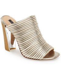 Rachel Zoe Women'S 'Seneca' Leather Sandal - Lyst