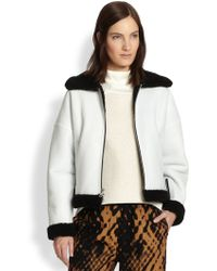 3.1 Phillip Lim Shearling Aviator Jacket - Lyst