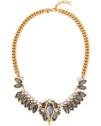 Rebecca Minkoff Statement Necklace - Black Diamond Crystal - Lyst