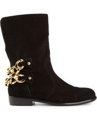 Giuseppe Zanotti Chain Boots - Lyst