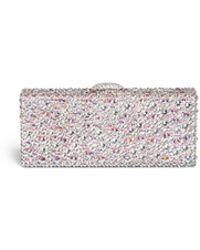 Rodo Allover Rhinestone Box Clutch - Lyst