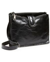 Hobo 'Goldie' Crossbody Bag black - Lyst