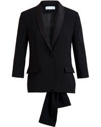 OSMAN Virgin Wool Tuxedo Jacket - Lyst