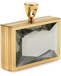 Tom Ford Faceted Brass Ring Clutch Bag - Lyst