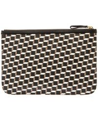 Pierre Hardy Cubeprint Leather Pouch - Lyst