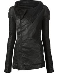 DRKSHDW by Rick Owens Fold Over Collar Jacket - Lyst