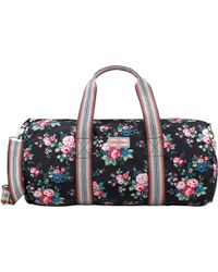 Cath Kidston - Spray Flowers Foldaway Barrel Bag - Lyst