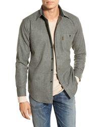 Pendleton | 'trail' Trim Fit Wool Flannel Shirt | Lyst