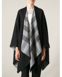 Burberry Waterfall Wrap Scarf - Lyst
