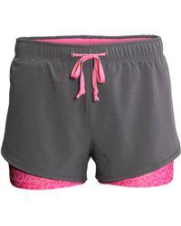 H&M Running Shorts - Lyst
