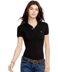 Polo Ralph Lauren Skinny-Fit Polo Shirt - Lyst