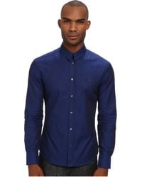 McQ by Alexander McQueen Harness Button-Up - Lyst