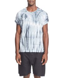 Chapter - Tie-Dye Linen-Blend T-Shirt - Lyst