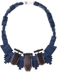 EK Thongprasert - Blue Dark Emperador Necklace - Lyst