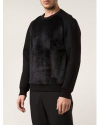 Drome Front Panel Sweater - Lyst