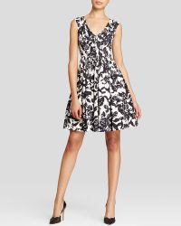 Tracy Reese Dress - Sleeveless Floral Print Flared - Lyst