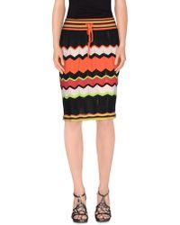 M Missoni | Knee Length Skirt | Lyst