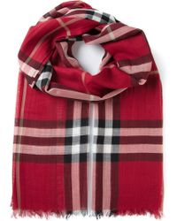 Burberry House Check Scarf - Lyst