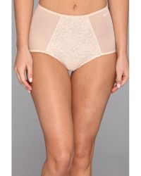 DKNY Underslimmers Signature Lace Brief Panty - Lyst