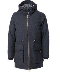 Moncler Gamme Bleu - Padded Hooded Coat - Lyst