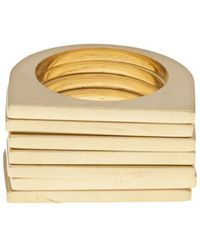 Uncommon Matters - Set Of 7 Rings - Lyst
