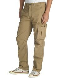 Levi's Big And Tall Ace Cargo Relaxed-Fit Harvest-Gold Pants - Lyst