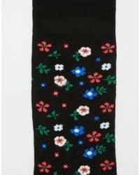 Urban Eccentric - Ditsy Floral Socks - Lyst