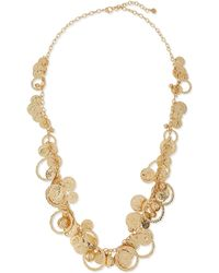 R.j. Graziano - Shaky-coin Layering Necklace - Lyst