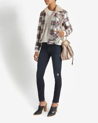 Laveer Plaid Hockey Jacket - Lyst