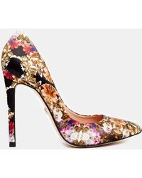 SuperTrash - Peekaboo Floral High Heeled Shoes - Lyst