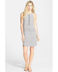 Splendid Zebra Print Dress - Lyst