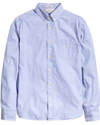 H&M Cotton Shirt - Lyst