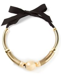 Lanvin 'Polly' Necklace - Lyst