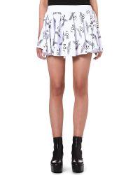 BOY London Logo-Print Mini Skirt - For Women - Lyst