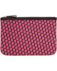 Pierre Hardy | Canvas Cube Print Pouch | Lyst
