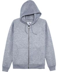 Marc Jacobs Zip Up Hoodie - Lyst